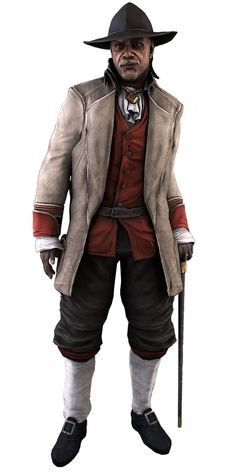 Achilles Davenport - Characters & Art - Assassin's Creed III