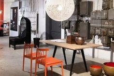 Nest Chair by Autoban and Welles Table by Matthew Hilton designed to De La Espada.