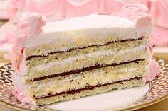 Ako vam treba velika rodjendanska torta onda uzmite duplu meru ove torte, inače ja pravim pola i sasvim nam je dovoljna za subotu i nedelju ili ako nam dolaze gosti, a tako ću mere i pisati. Sve tri kore: 6 belanaca 6 kašika šećera 3 kašike brašna 3 kašike griza 10 gr praška