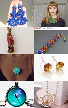 Unique jewellery by Radosław on Etsy--Pinned with TreasuryPin.com