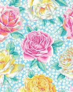 Kaffe Collective - Rose Bloom - Sky Blue