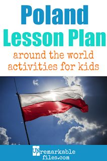 Planning the perfect Poland lesson plan for your students? Are you doing an around-the-world unit in your social studies classroom? Try these free and fun Poland activities, crafts, books, and free printables for teachers and educators! Educational Activities, Activities For Kids, Childcare Activities, Stem Activities, Geography For Kids, Social Studies Classroom, How To Pronounce, Parenting Humor, Lessons For Kids