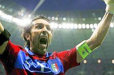 Buffon , Italy vs Germany  Euro 2012