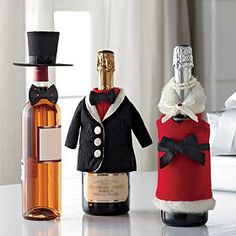 Show your host your appreciation with these adorable Bottle Covers!