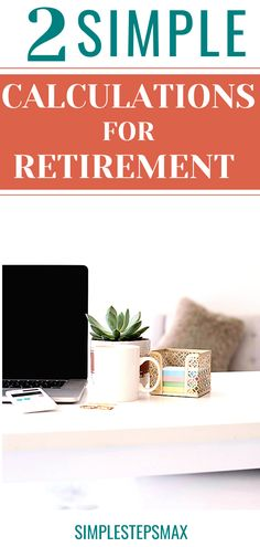 Every good retirement savings plan should include these 2 simple calculations when preparing for retirement. Make sure you know how much money you need to save for retirement. #personalfinance #moneytips #retirement #financialtips Retirement Savings Plan, Retirement Strategies, Preparing For Retirement, Early Retirement, Retirement Planning, Financial Tips, Financial Planning, Money Tips, Personal Finance