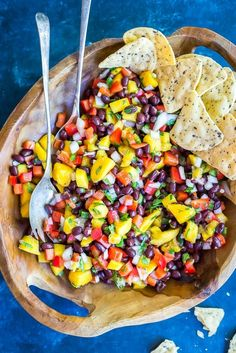This Easy Mango Black Bean Salad is great for a side dish or condiment! I hope you all had a wonderful weekend!  And maybe some of you are lucky enough to have today off too!  Last week we re-did our kitchen and living room floor and as diy projects tend to do, it took much …