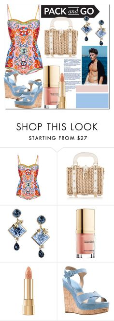 """""""Dolce in Rio..."""" by nfabjoy on Polyvore featuring Dolce&Gabbana, Michael Kors, dolceandgabbana and Packandgo"""