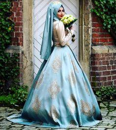 ALMAYA ☺️ Rabia Hanım HAREM Mint abiyemizin altına tarlatan kullanmış. Çok güzel bi nişanlık olmuş ayrıca çok yakışmış ☺️ @rabia_harun_ #pınarşems #haremabiye #hijab #hijabi #fashion #tesettürabiye