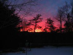 First light, Feb. 21, 2013