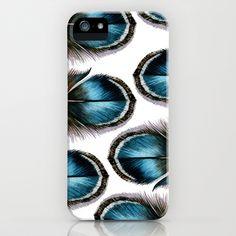 Mystery Feathers iPhone & iPod Case by Jody Edwards Art - $35.00