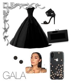 """Untitled #7"" by elena-ghitulescu on Polyvore featuring Judith Leiber and Kate Spade"