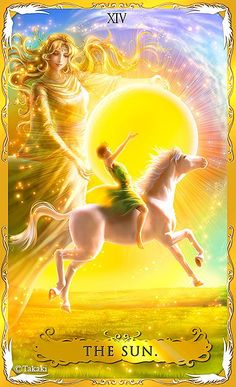 The Sun by Takaki (Alchemia Tarot)