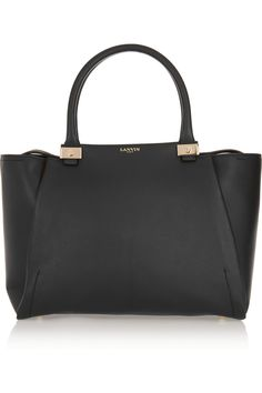 Lanvin|Trilogy leather tote#bags