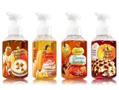 Bath and Body Works Pumpkin Hand Soaps Launch for Fall 2015
