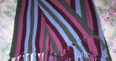 WORLD'S EASIEST CROCHETED AFGHAN    SIZE:   40 x 56 inches, excluding fringe   MATERIALS: Worsted weight yarn I (5.5 mm) crochet hook  GAUG...