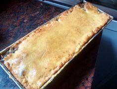 Torta de manzanas en capas