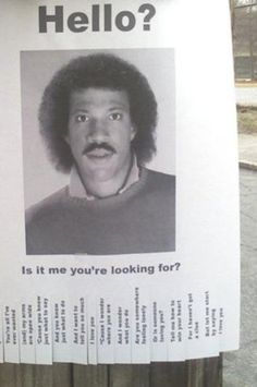 Lionel Poster