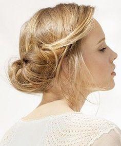 簡単なのにこんなカワイイ!話題のまとめ髪「ギブソンタック」のやり方 - M3Q - 女性のためのキュレーションメディア
