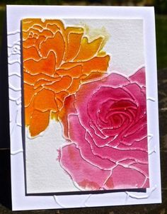 DTGD13UnderstandBlueA Watercolored Roses by hskelly - Cards and Paper Crafts at Splitcoaststampers