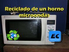 Reciclar horno microondas roto o quemado