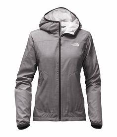 Grey northface jacket