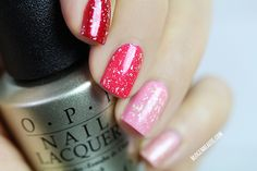 Valentine's manicure with OPI Pure