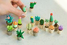 fondant flower ideas   Sugar paste/ fondant ideas (no flowers) / polymer clay succulents ...