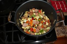 Chicken Sausage Ratatouille