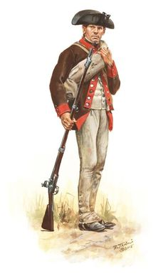 Don Troiani Historical Artist American Revolution: A soldier of the 12th Massachusetts Regiment in 1777 as he would have appeared during the Saratoga campaign. American Revolutionary War: