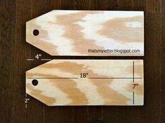 A DIY tutorial to make giant wood tags. Create a unique wreath alternative front… A DIY tutorial to make giant wood tags. Create a unique wreath alternative front door decor with giant wood tags perfect for any season. Christmas Wood Crafts, Christmas Projects, Christmas Diy, Xmas, Christmas Signs, Christmas Door Hangers, Thanksgiving Wood Crafts, Winter Wood Crafts, Letter Door Hangers