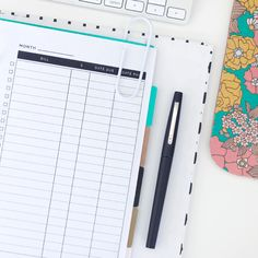 Free   Printable Bill Tracker for A5 Planners in 3 Styles