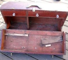 Easy DIY Home Decor Crafts: Carpenters Tool Box - Flea Market Flip