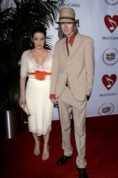 Lisa Marie Presley & Michael Lockwood–PICS