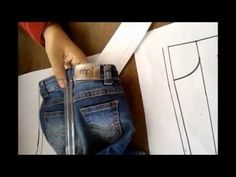 Vídeo aula 8 - Parte 2/3 - Como tirar molde de roupa pronta - YouTube