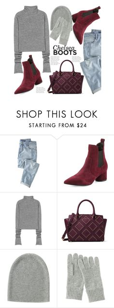 """These Boots Are Made For Walking..."" by hattie4palmerstone ❤ liked on Polyvore featuring Wrap, Kendall + Kylie, Acne Studios, MICHAEL Michael Kors, Uniqlo and chelseaboots"