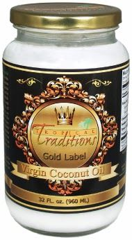 Tropical Traditions Gold Label Virgin Coconut Oil Review/Giveaway