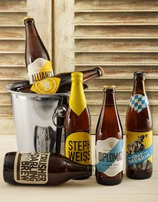 Fine Wine and Spirits - Craft Beers: Six Of The Best Craft Beer Bucket! Beer Online, Beer Bucket, Fine Wine And Spirits, Best Craft Beers, St Patricks Day, Beer Bottle, Brewing, Good Things, Snacks