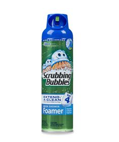 Scrubbing Bubbles Mega Shower Foamer - Just spray on, let sit for three minutes, and rinse