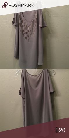 Lucca couture top Worn three times. Shoulder cut out. Super cute! Price negotiable Urban Outfitters Tops Blouses