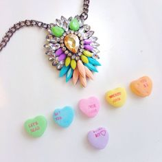 CANDY... and Necklace by: Ily Couture