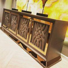 Adams Furniture, Hall Furniture, Fine Furniture, Luxury Furniture, Furniture Design, Wood Table Design, Dining Room Design, Interior Design Videos, Dining Cabinet