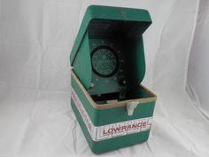 Vintage Lowrance Fish Lo-K-Tor 300D Fish Finder Decor Outdoors Nautical Vtg Box #Lowrance #primitive #Rustic #decor #vtg #art #midcenturymodern #etsy #ebay #vintage #rare #old