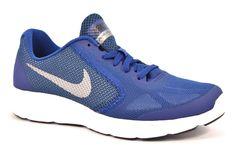 NIKE 819413 400 REVOLUTION 3 (GS) BLU GRIGIO Running Palestra Ragazzo  Sneakers. shoes my friends f342ecf048a