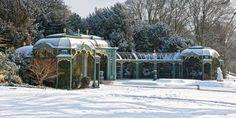 The Aviary in Winter. ©National Trust, Waddesdon Manor.  Photo: Stuart Bebb