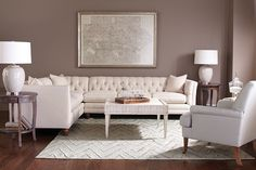 Nothing brightens a room like a crisp, clean sectional! Coming soon: the Stevens Sectional!