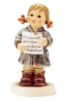 Hummel Club Figurine:First Solo Hummel Figurine 2182 Sold Out