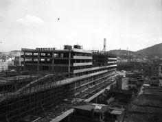 세운상가 개관식(1967년) 출처: 서울사진 아카이브