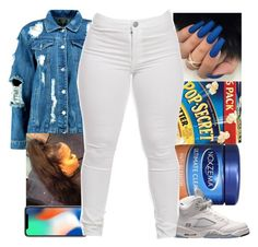 """💦"" by d-double-e ❤ liked on Polyvore featuring Boohoo and Retrò"