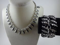 Vintage Necklace & Bracelet set by HarpysAttic on Etsy