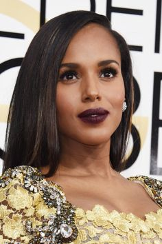 Kerry Washington - All The Most Amazing Beauty And Hair Moments At The 2017 Golden Globes